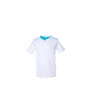 Afbeelding Basis v-hals t-shirt