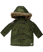 Afbeelding Mexx Kids jas met afneembare capuchon