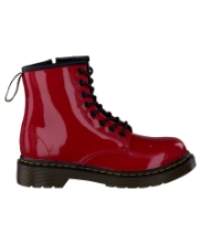 Afbeelding Rode Dr. Martens Boots DELANEY/BROOKLY