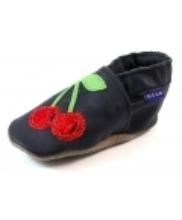 Afbeelding Inch Blue babyslofjes online Cherry Blauw INC22