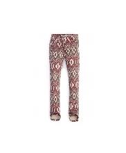 Afbeelding Geisha jeans Tregging, etnische print