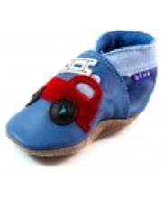 Afbeelding Inch Blue babyslofjes online Firetruck Blauw INC03