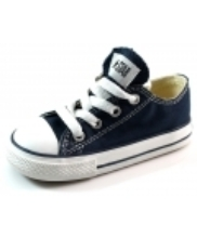 Afbeelding Converse All Stars lage sneaker kids Blauw ALL37
