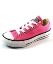 Afbeelding Converse All Stars lage sneaker kids Roze ALL01