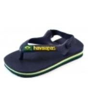 Afbeelding Havaianas slippers Baby Brasil logo Blauw HAV01