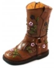 Afbeelding Zecchino d'Oro online laarzen A06-4654 crepe Bruin ZEC28