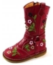 Afbeelding Zecchino d'Oro online laarzen A06-4654 crepe Rood ZEC29