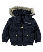 Afbeelding Mexx Mini jas met afneembare capuchon